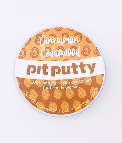 Pit Putty Deodorant Cinnamon Cedarwood - 65g