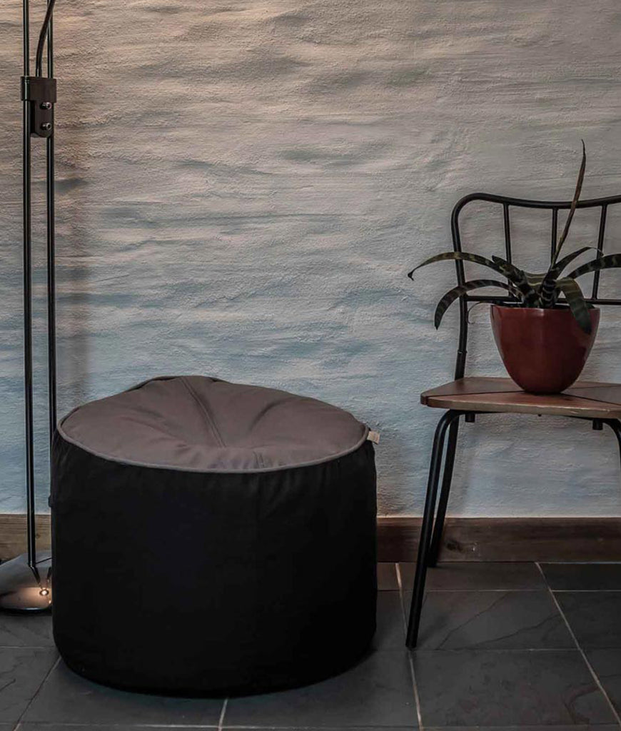 The Big Bean Bag Company Bean Stool - Pebble & Orca