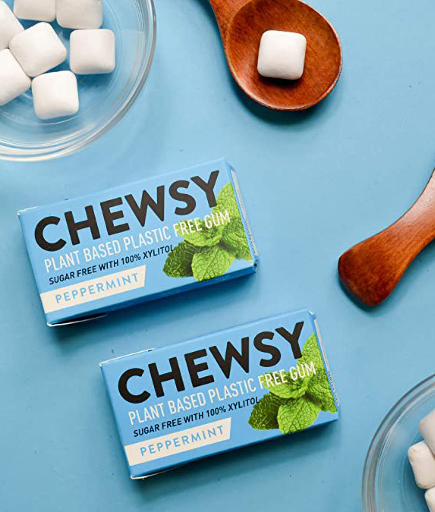 Chewsy Plastic Free Chewing Gum - Peppermint