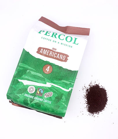 Percol Americano 4 Ground Coffee 200g
