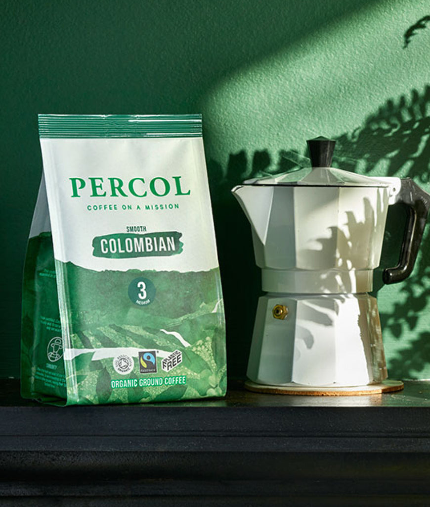 Percol Colombian 3 Ground Coffee 200g