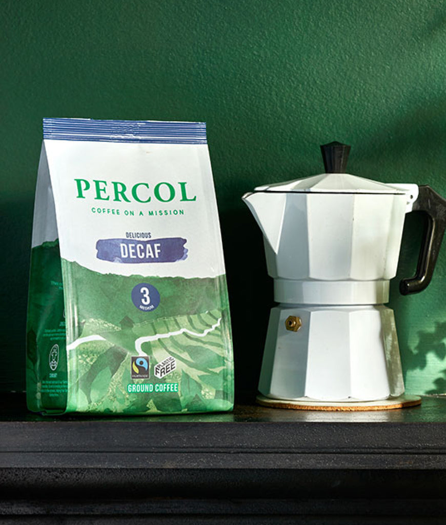 Percol DECAF Ground Coffee 200g