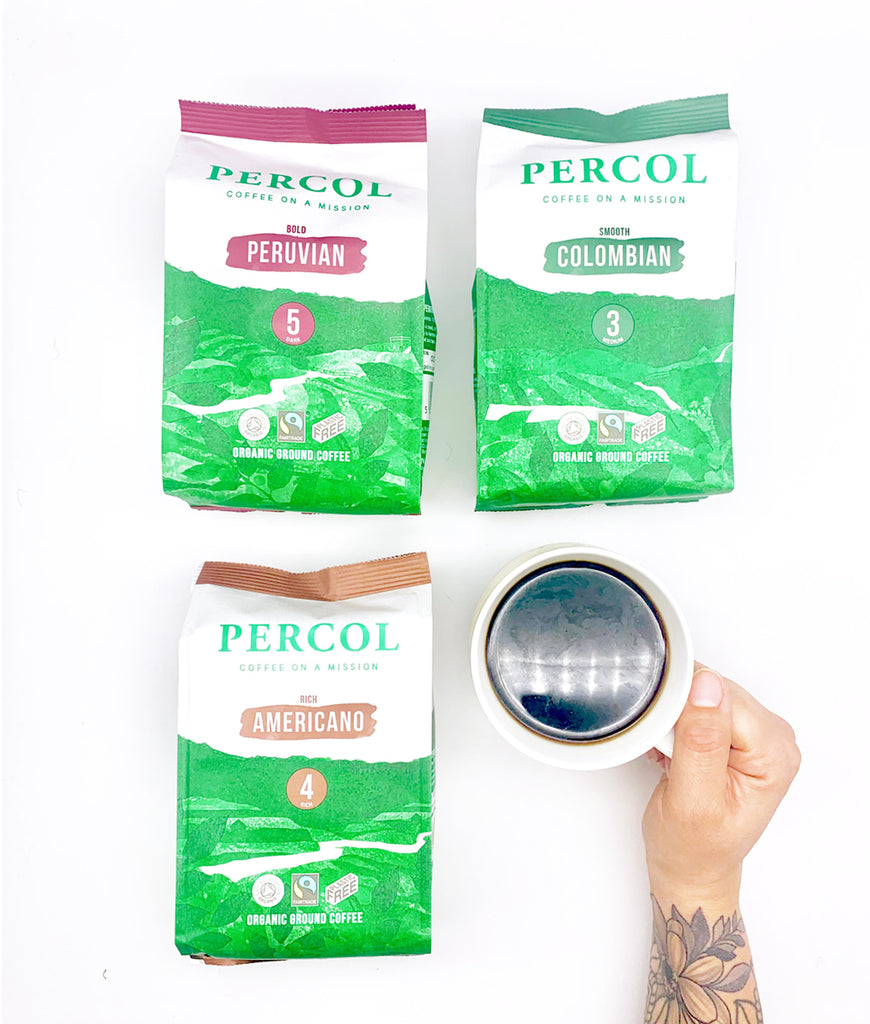 Percol Peruvian 5 Ground Coffee 200g