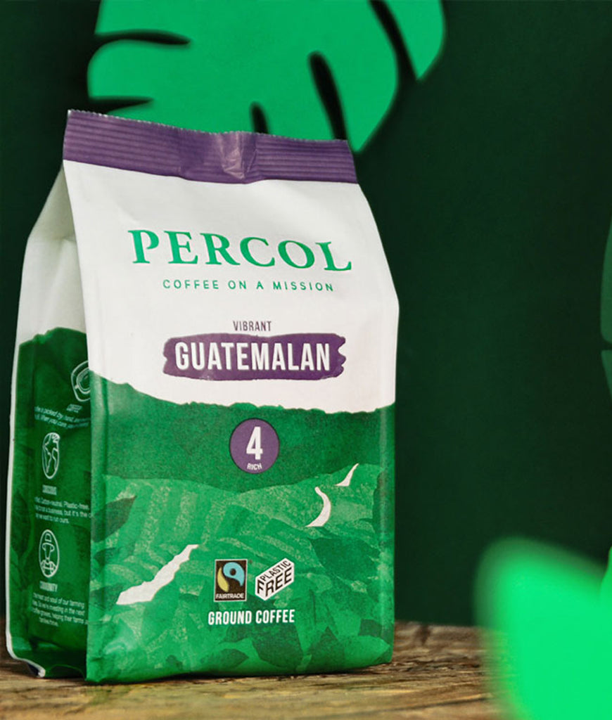 Percol Guatemalan 4 Ground Coffee 200g