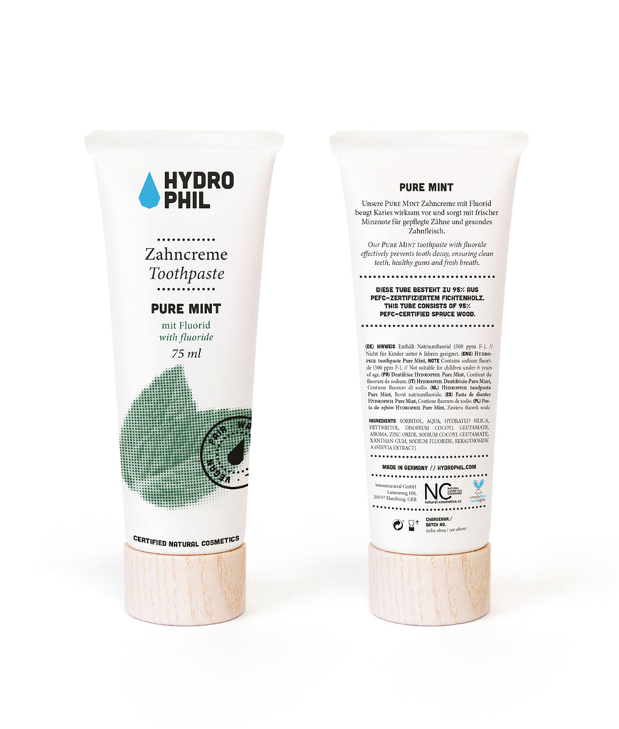Hydrophil Pure Mint Toothpaste