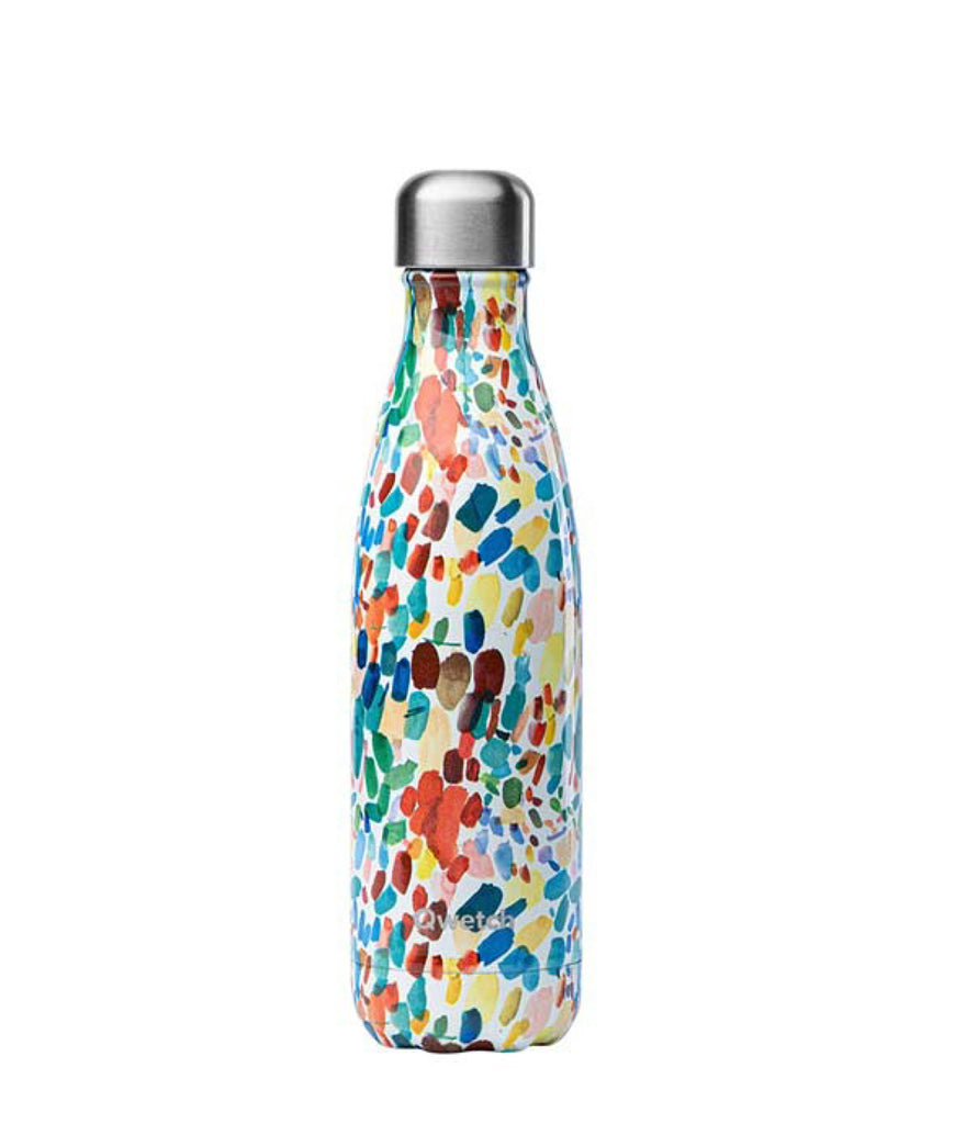 Qwetch Stainless Steel Water Bottle Arty - 500ml
