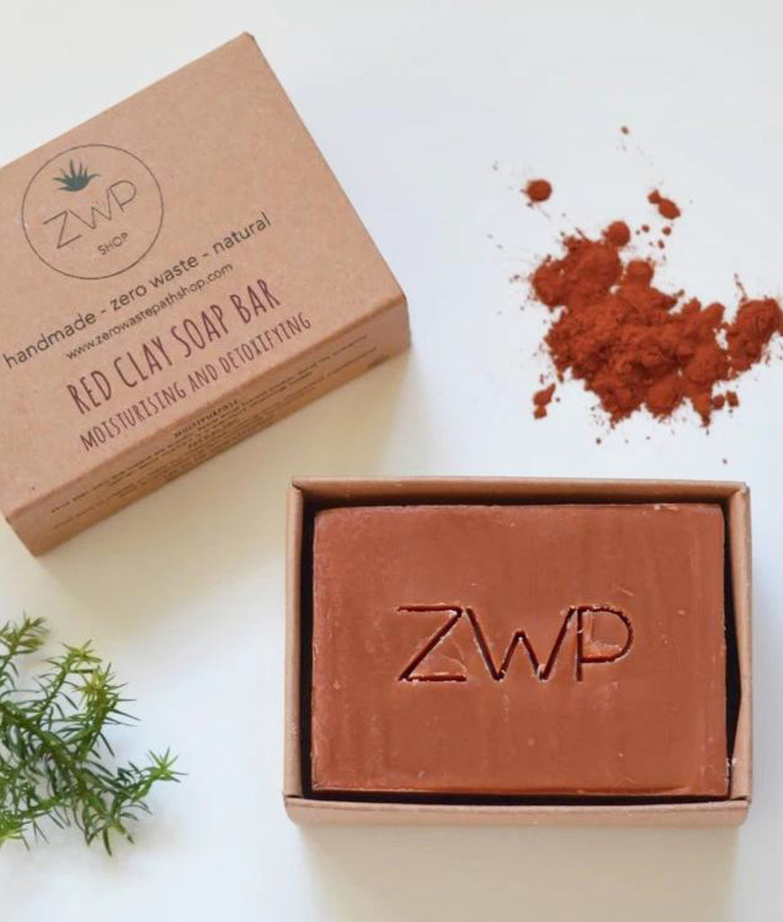 Zero Waste Path Soap Bar 100g - Red Clay