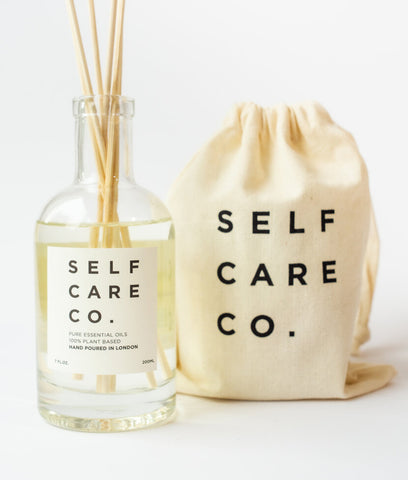 Self Care Co Reed Diffuser - Eucalyptus & Peppermint