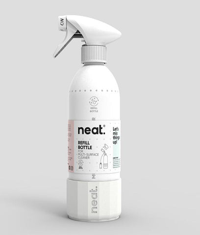 Neat Reusable Cleaning Spray Bottle