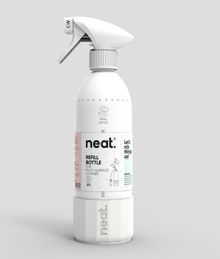 DAMAGED Neat Reusable Cleaning Spray Bottle