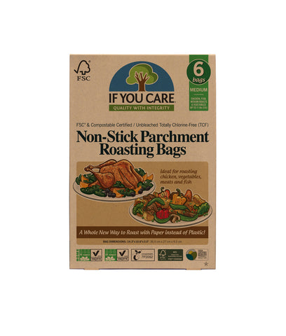 If You Care Unbleached Paper Roasting Bags - x6 Bags