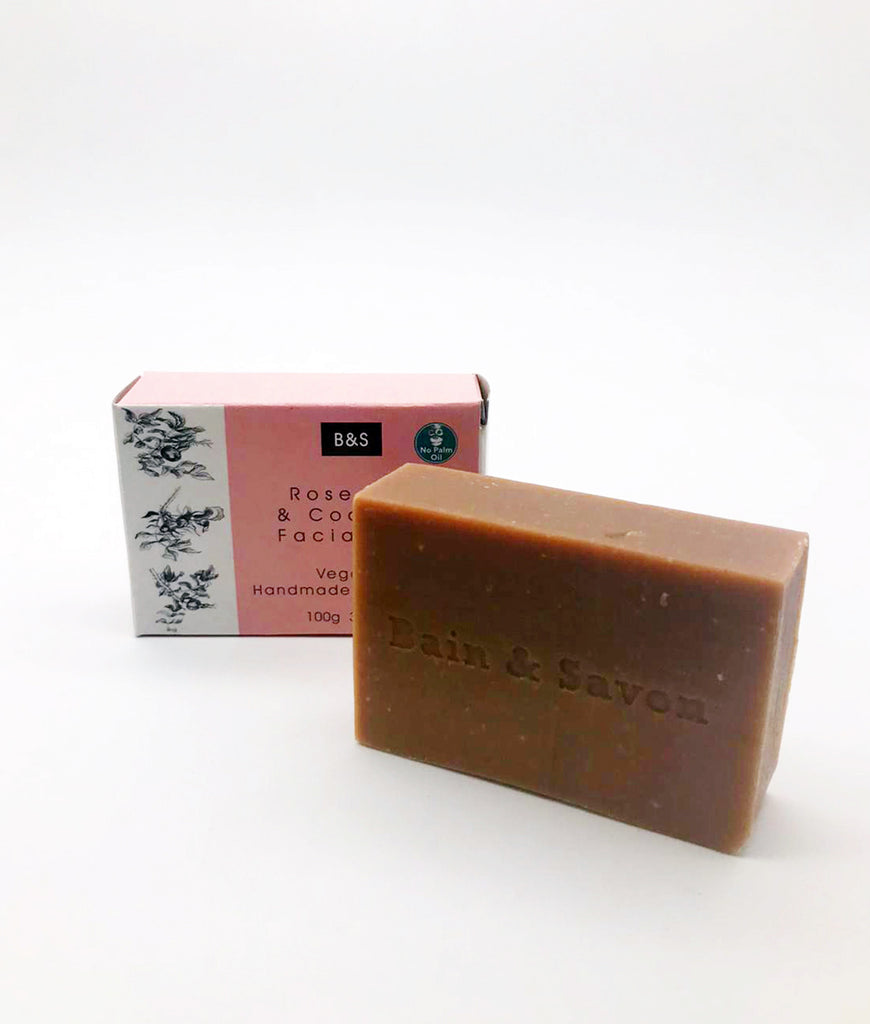 Bain & Savon Rosehip & Coconut Soap Bar - 100g