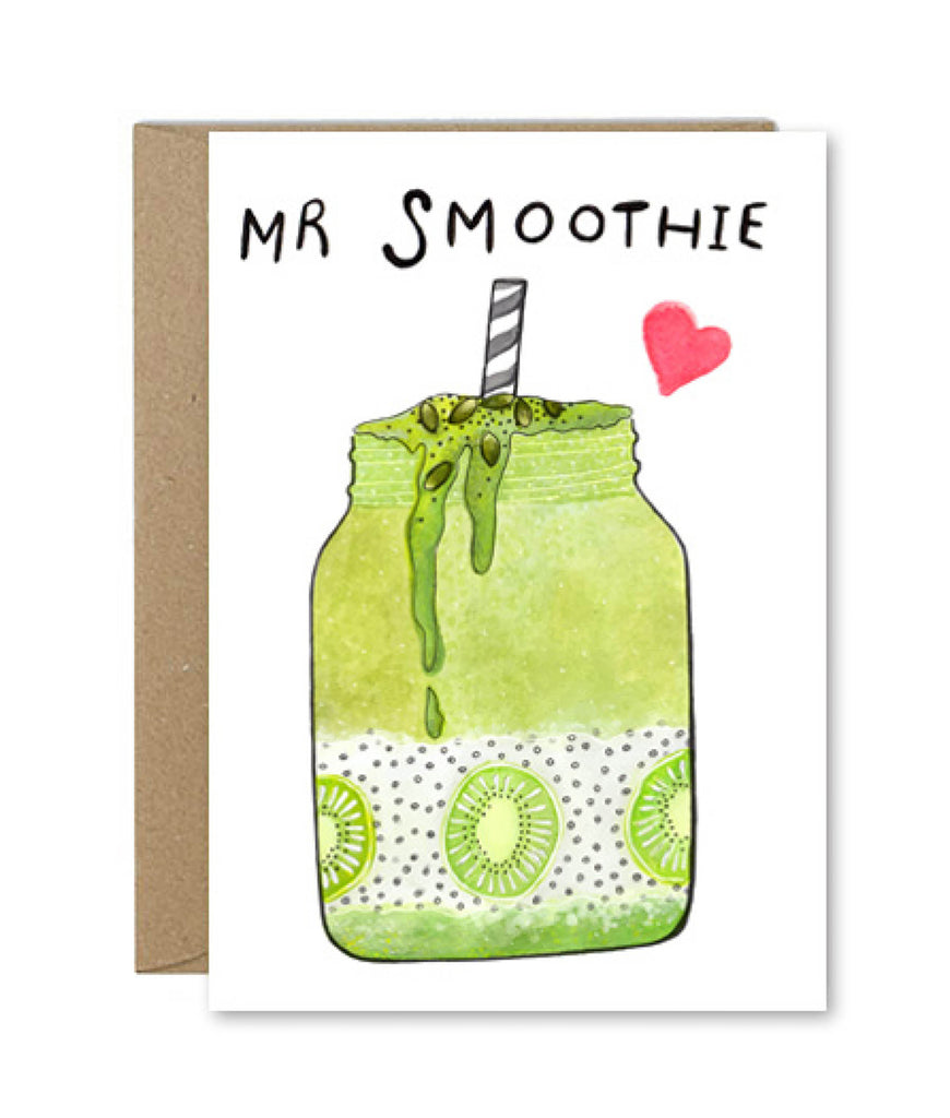 Rose & Daff Mr Smoothie Card