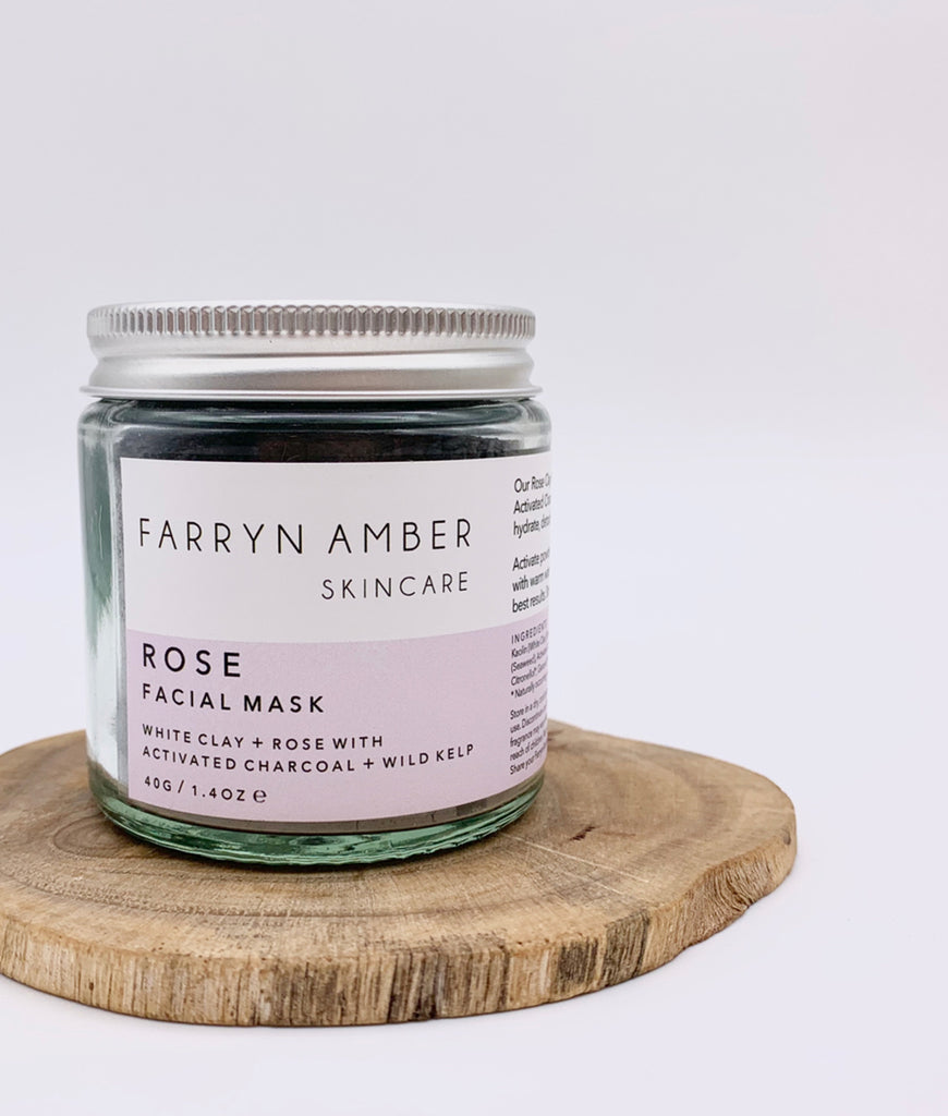 Farryn Amber Rose Facial Mask - 40g