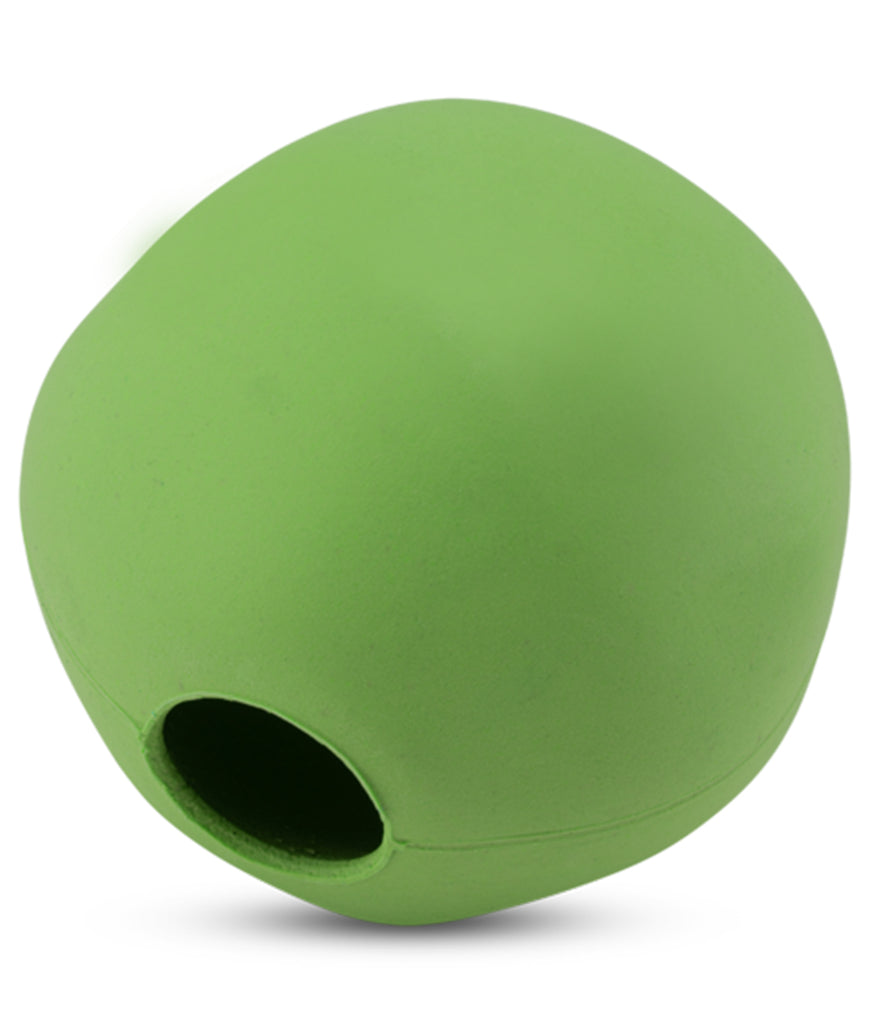 Beco Large Natural Rubber Ball  - Green