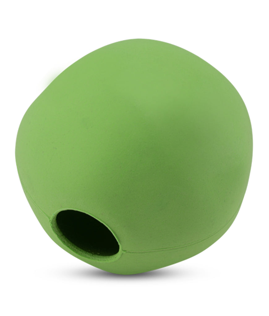 Beco Medium Natural Rubber Ball  - Green