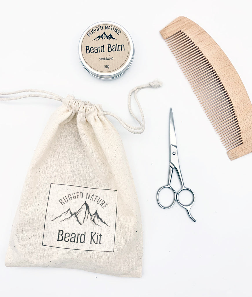 Rugged Nature Beard Kit - Lemongrass