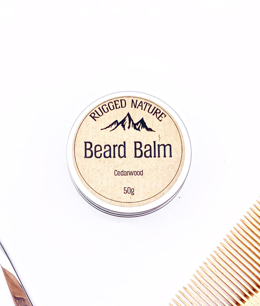 Rugged Nature Beard Balm 50g - Cedarwood