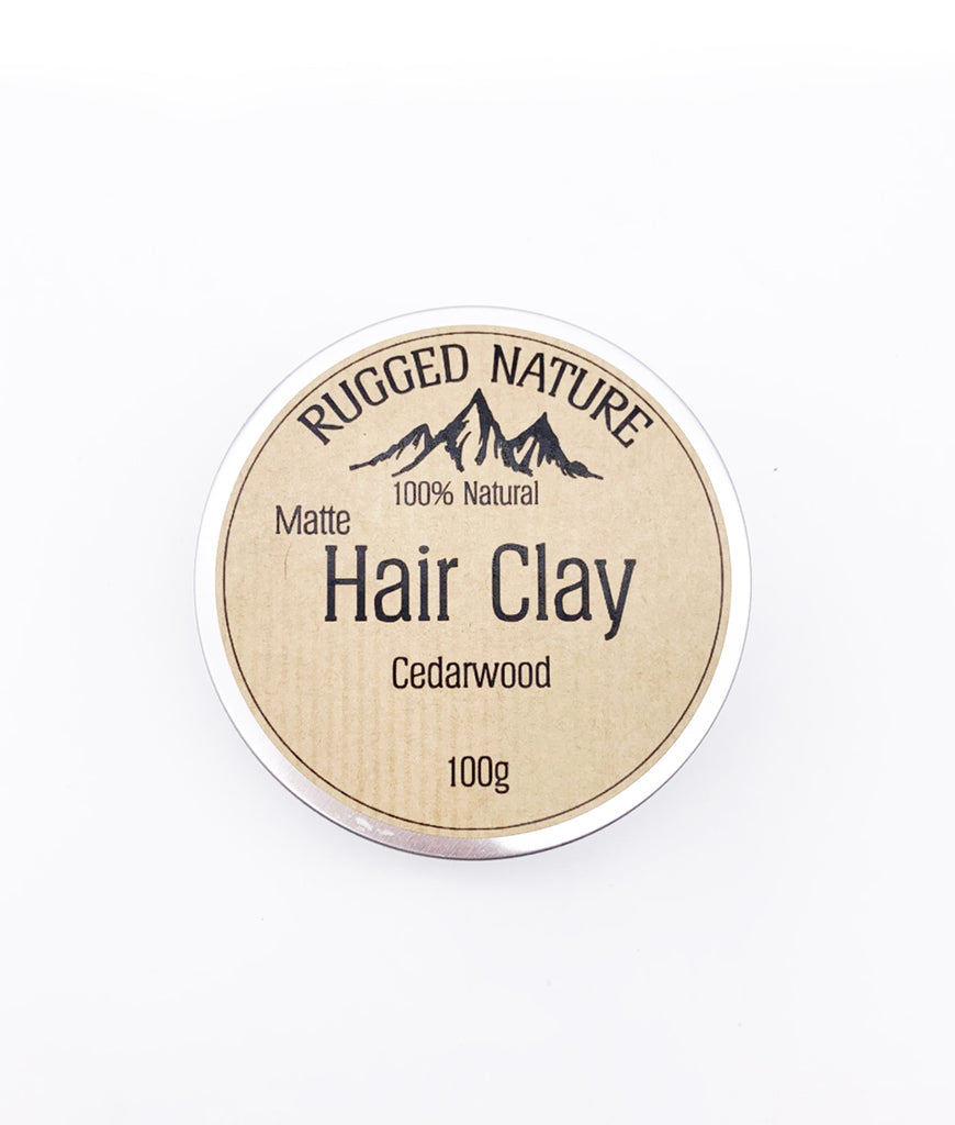 Rugged Nature Hair Clay 100g - Cedarwood