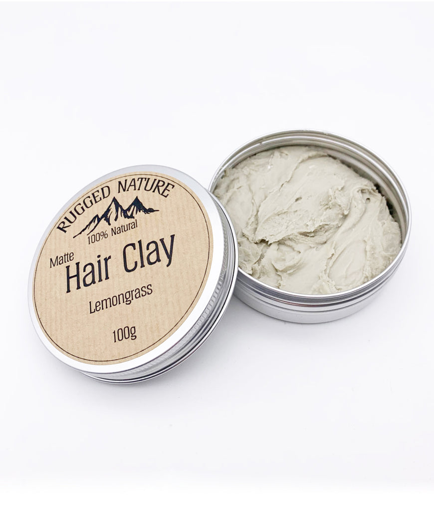 Rugged Nature Hair Clay 100g - Lemongrass