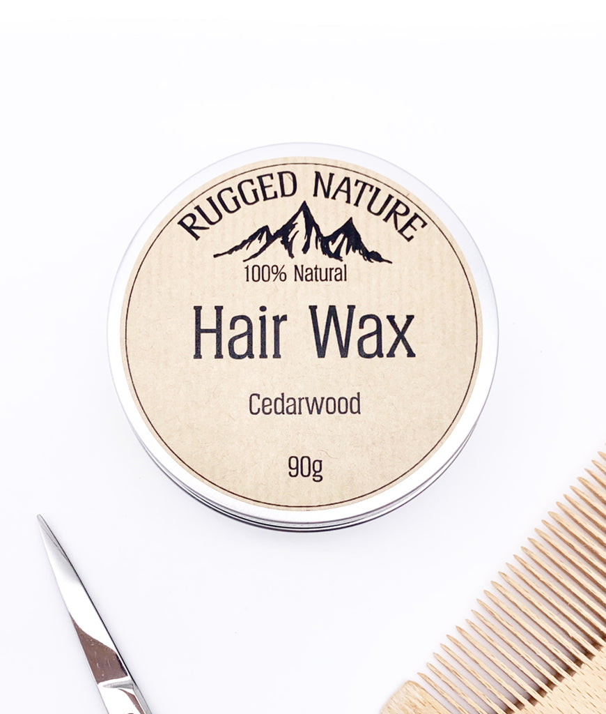 Rugged Nature Hair Wax 90g - Cedarwood
