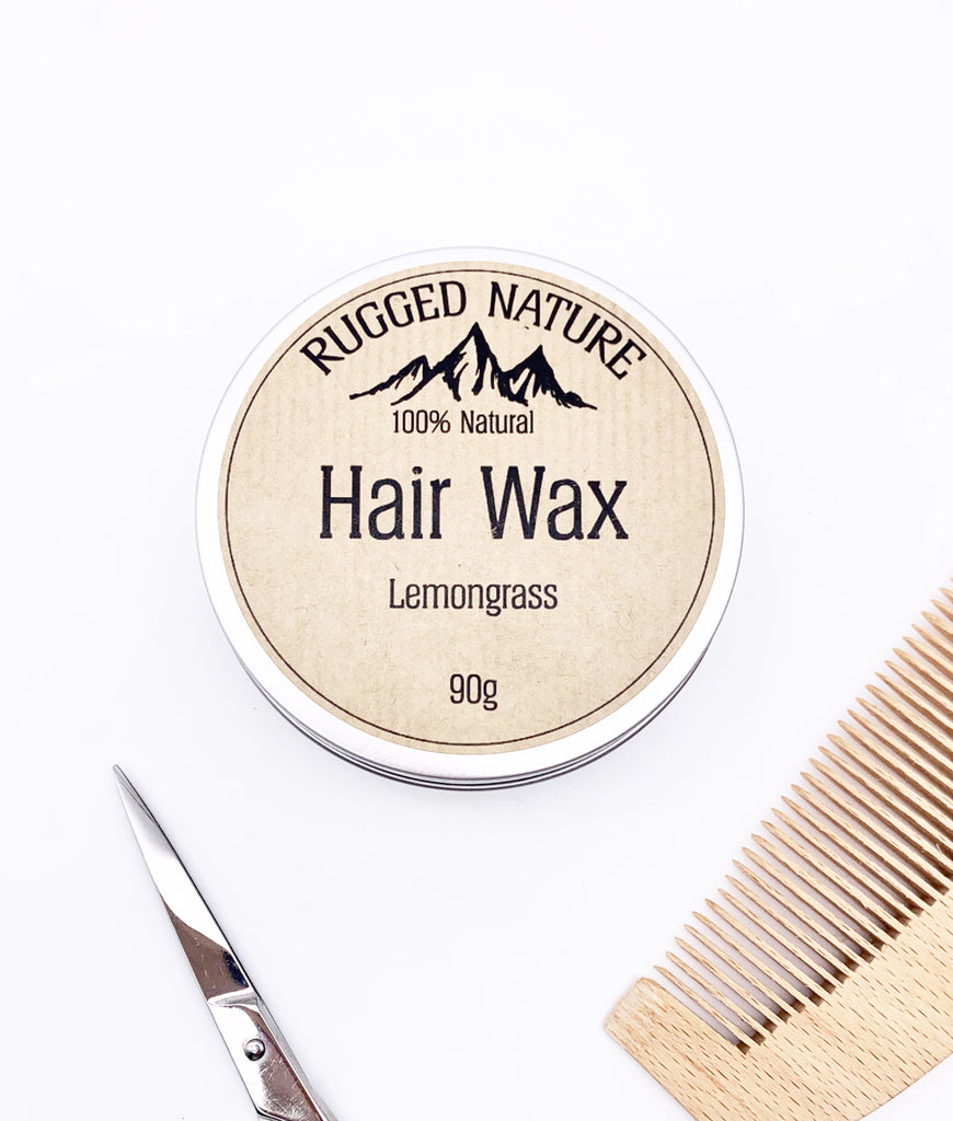 Rugged Nature Hair Wax 90g - Lemongrass