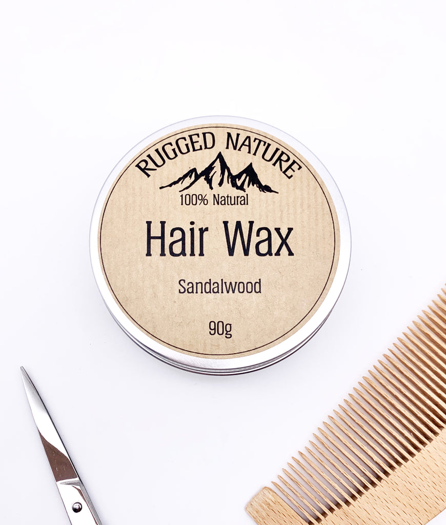 Rugged Nature Hair Wax 90g - Sandalwood