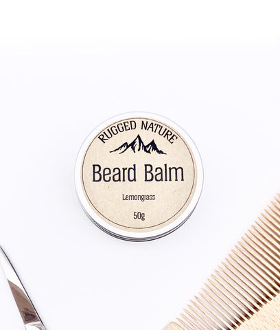 Rugged Nature Beard Balm 50g - Lemongrass