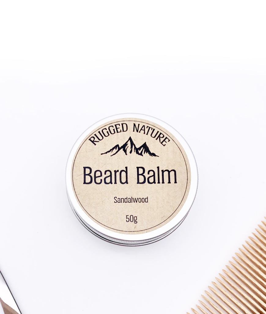 Rugged Nature Beard Balm 50g - Sandalwood