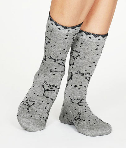 Thought Clothing Bamboo Zodiac Star Sign Socks - Sagittarius