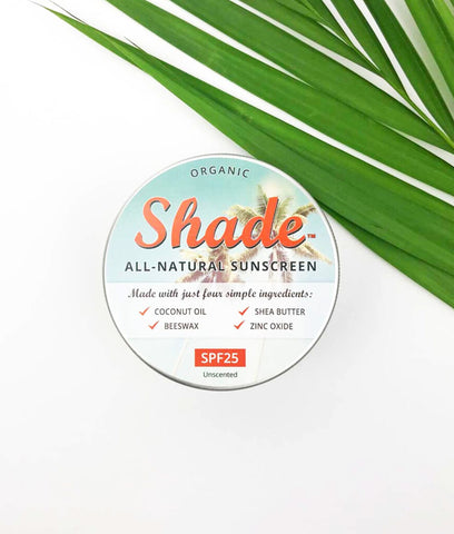 Shade All Natural Suncream SPF25 - 100ml