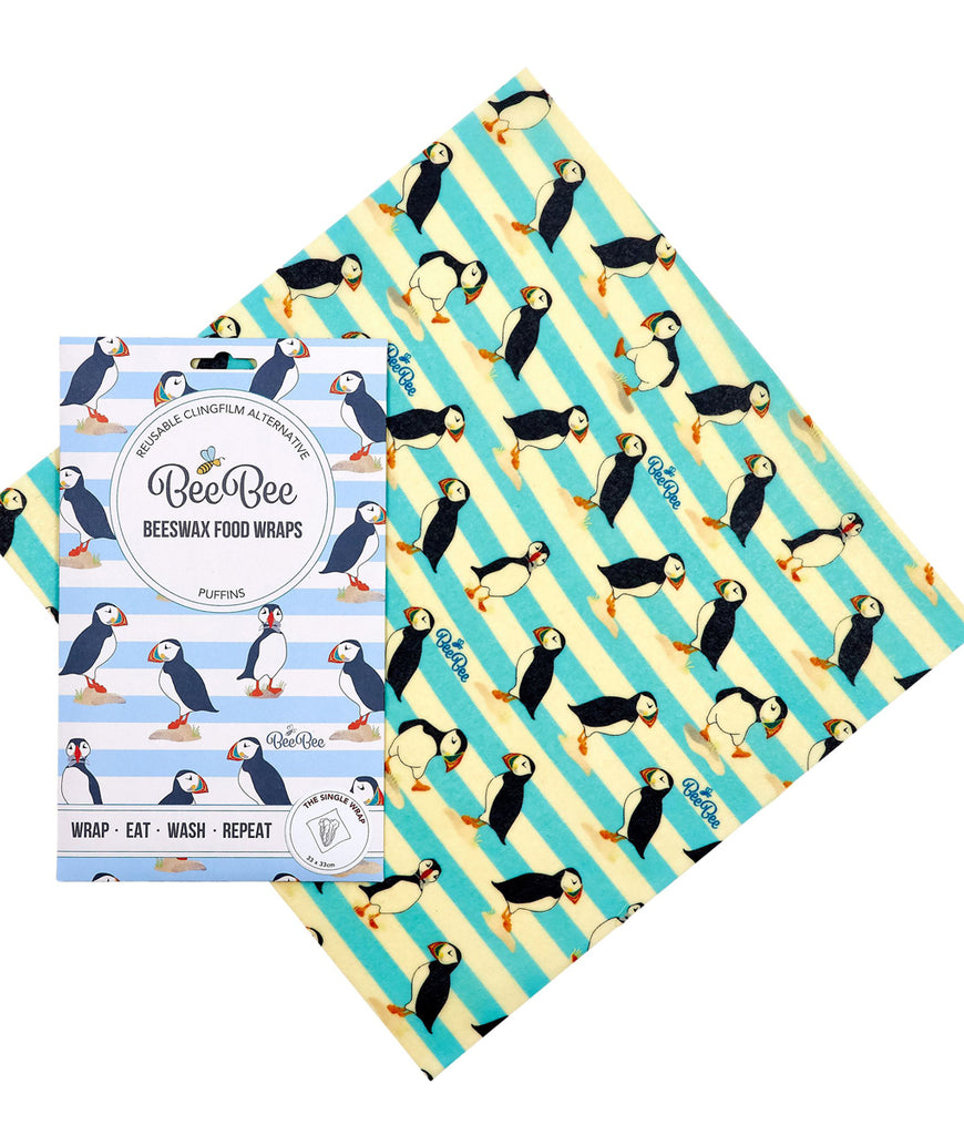 BeeBeeWraps Wax x1 Single Pack - Puffins