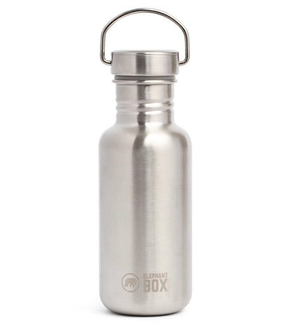 Elephant Box Stainless Steel Water Bottle - 500ml