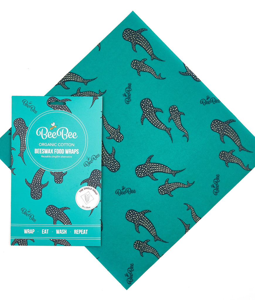 BeeBeeWraps Wax x1 Single Pack - Whale Pod