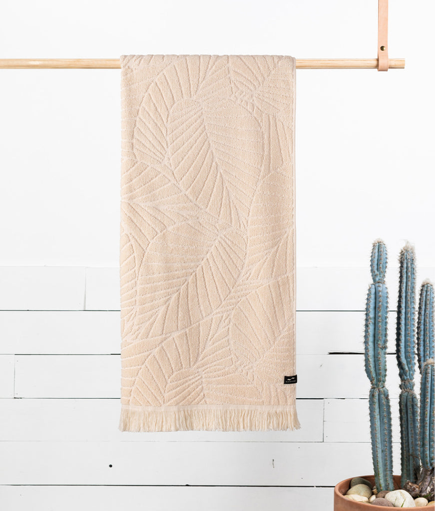 Slowtide Bath Towel - Cream Kalo