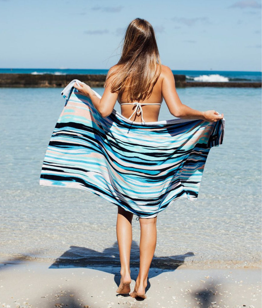 Slowtide Beach Towel - Chatter