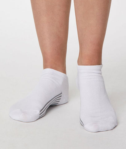 Thought Clothing Solid Jane Ankle Socks - White