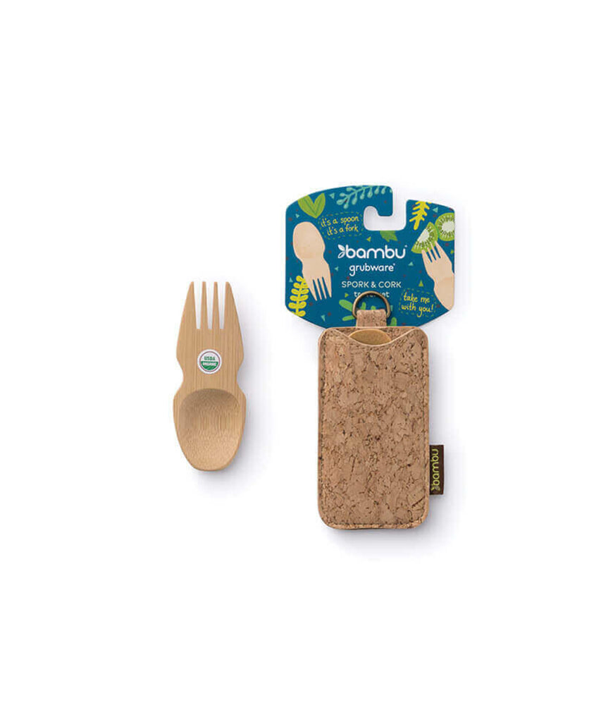 Bambu Spork & Cork Travel Set