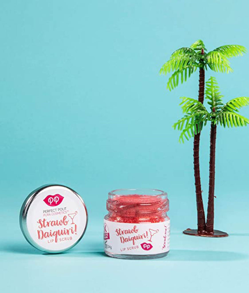 Pura Cosmetics Lip Scrub 24g - Strawberry Daiquiri