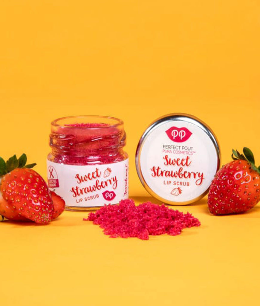 Pura Cosmetics Lip Scrub 24g - Sweet Strawberry