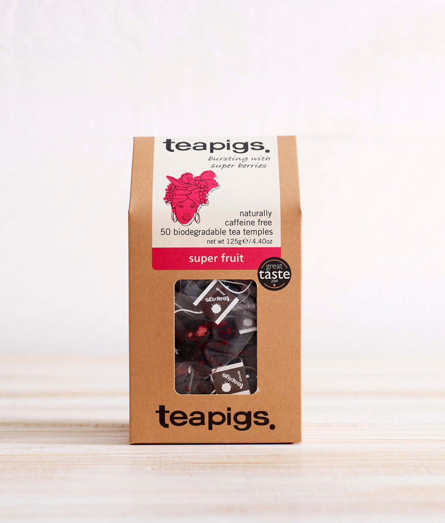 Teapigs Super Fruit Tea - x50 Tea Temples