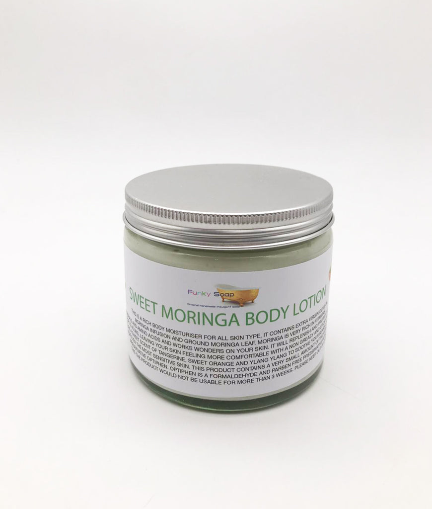 Funky Soap Sweet Moringa Cream for All Skin Types - 250g