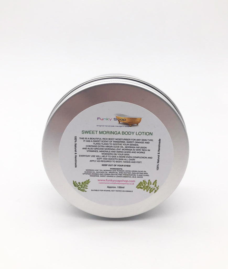 Funky Soap Sweet Moringa Cream for All Skin Types - 150ml