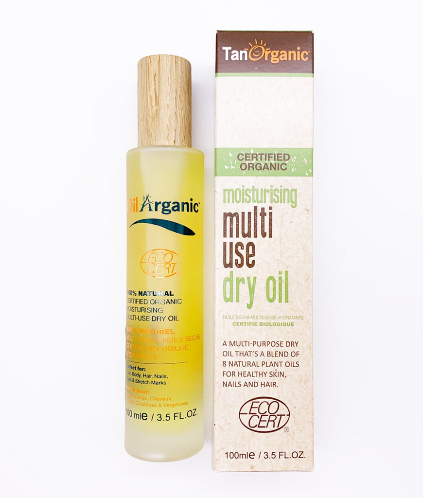 Tan Organic Multi Use Dry Oil - 100ml