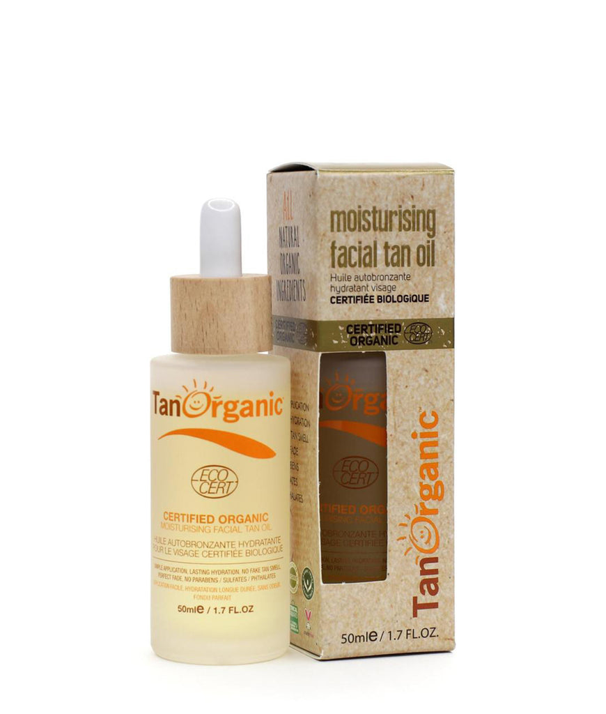 Tan Organic Face Tan Oil - 50ml