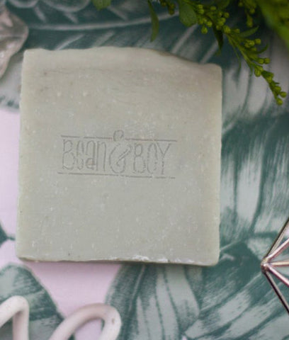 Bean & Boy MINI Tea Tree & Green Clay Soap Bar - 40g