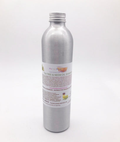 Funky Soap Tea Tree & Neem Oil Shampoo 300ml - REFILLABLE
