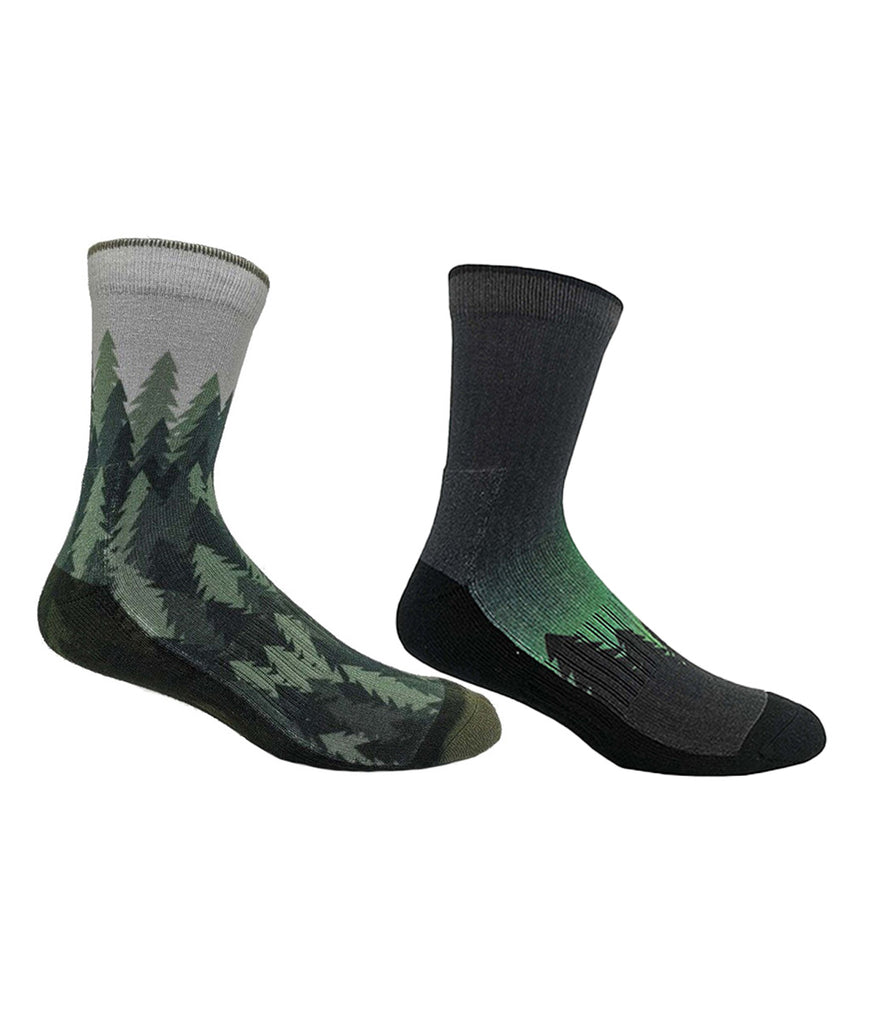 Tentree 3-Bottle Daily Socks x2 Pack - Alpine Trees
