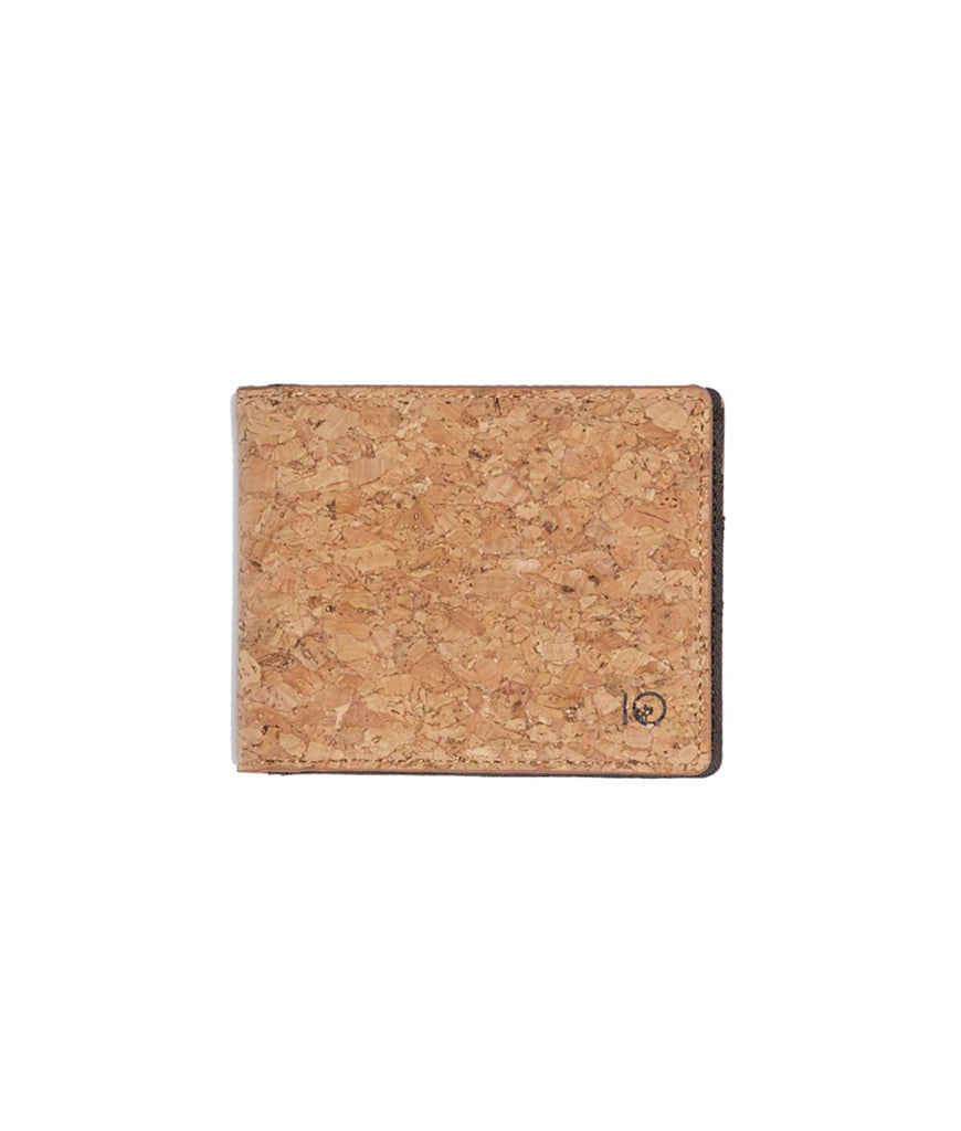 Tentree Baron Bi-Fold Wallet - Cork
