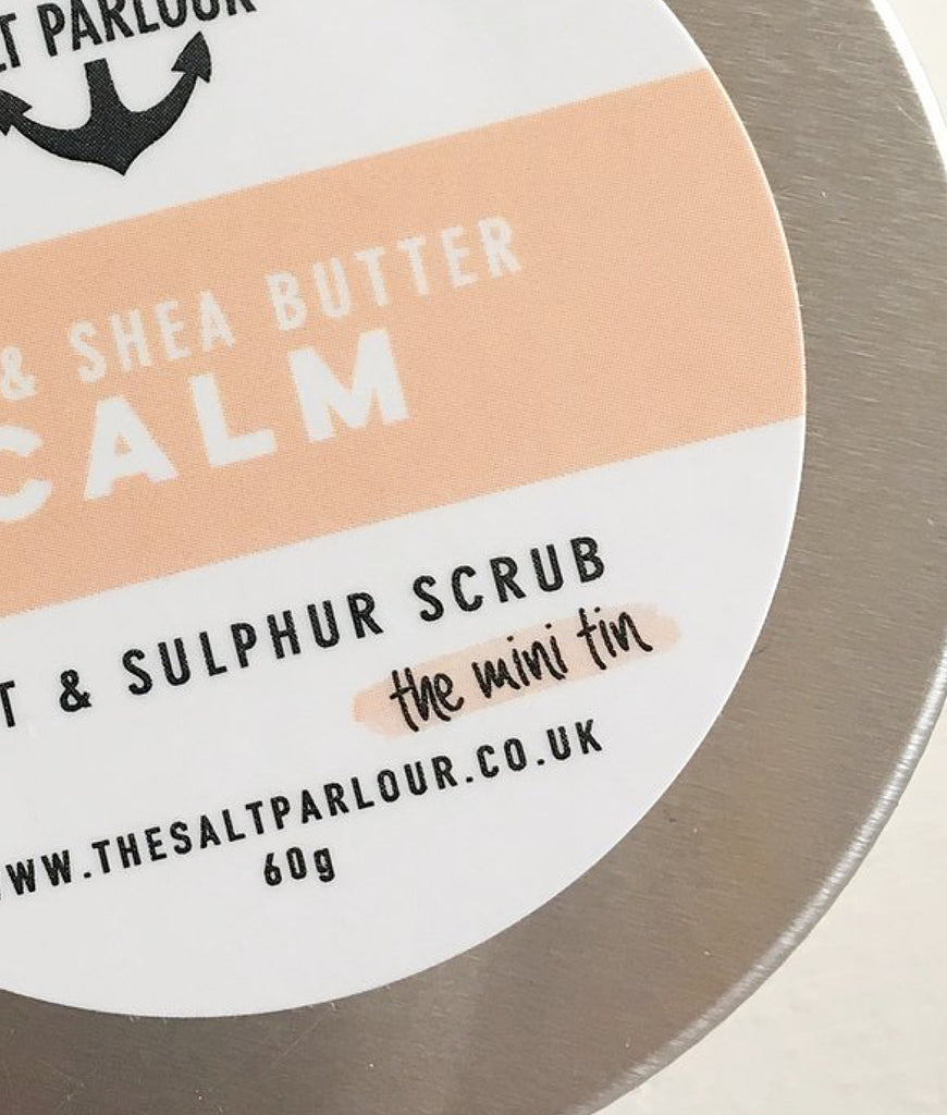 The Salt Parlour Rose & Shea Butter CALM - MINI 60g